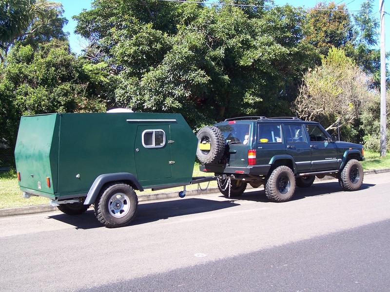 Aussie Homebuilt Camping Trailer